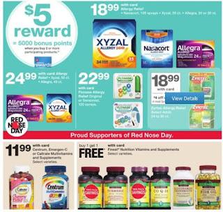 Walgreens weekly ad valid May 20 - 26, 2018 Buy 1 get 1 50% off