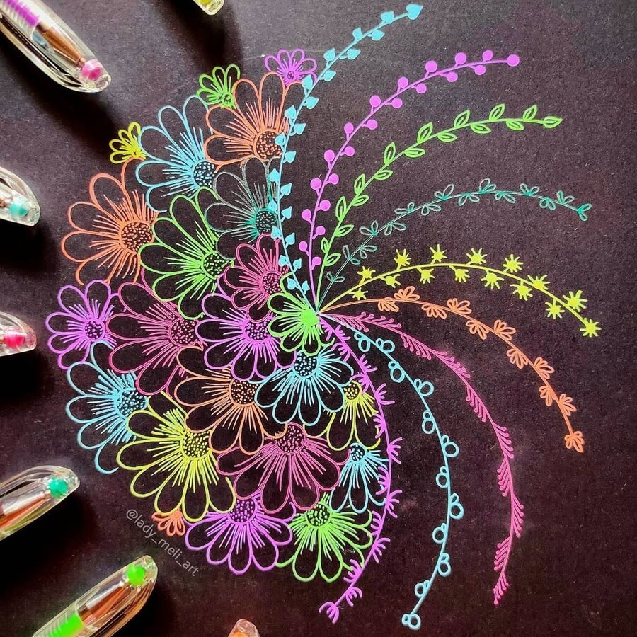 02-Flowers-and-colors-lady_meli_art-www-designstack-co