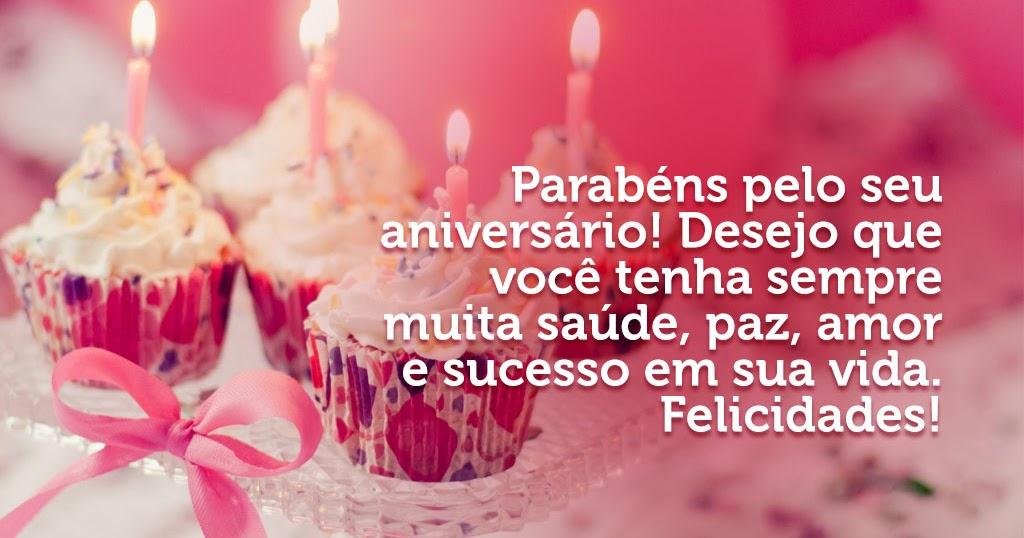 Frases De Aniversário: MENSAGEM DE ANIVERSÁRIO