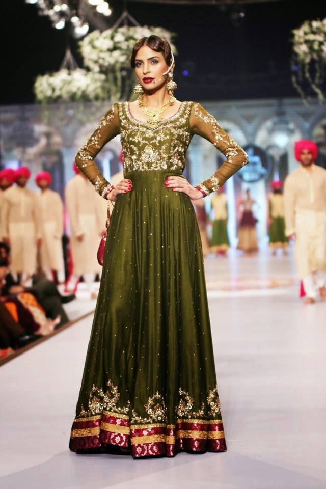 Pakistani and indian designer bridal anarkali suits and for Pakistani dresses for wedding parties