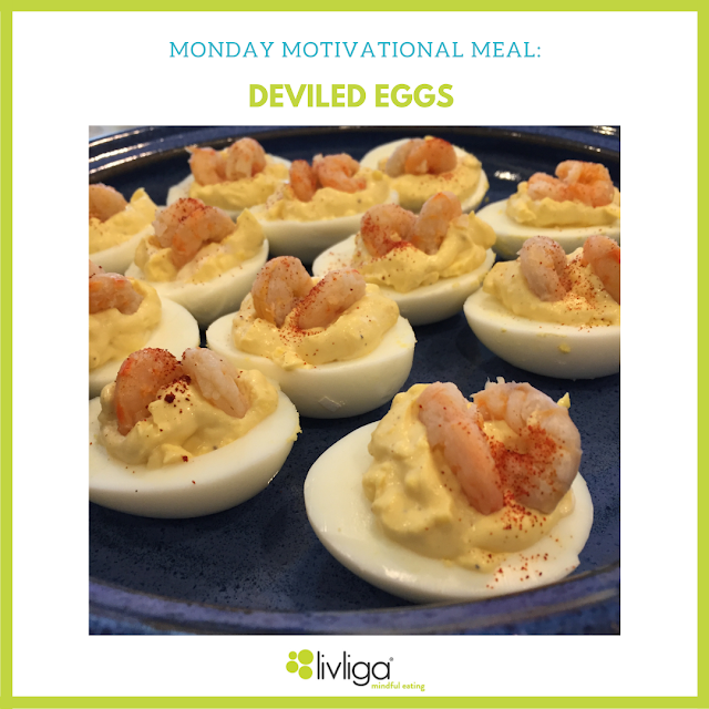 Monday Motivational Meal - Deviled Eggs