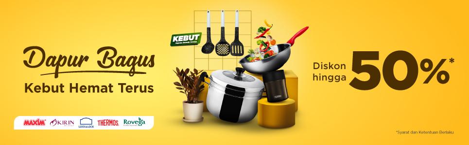 Tokopedia - Promo Diskon s.d 50% di Dapur Bagus Kebut Hemat