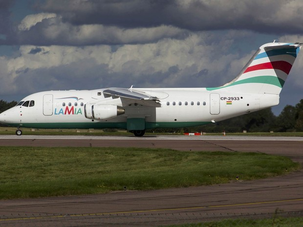 Avião do acidente com equipe da Chapecoense tinha 17 anos