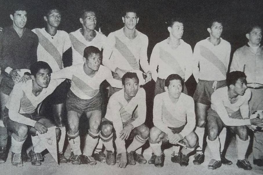 Formación de Ecuador ante Chile, Clasificatorias Inglaterra 1966, 12 de octubre de 1965