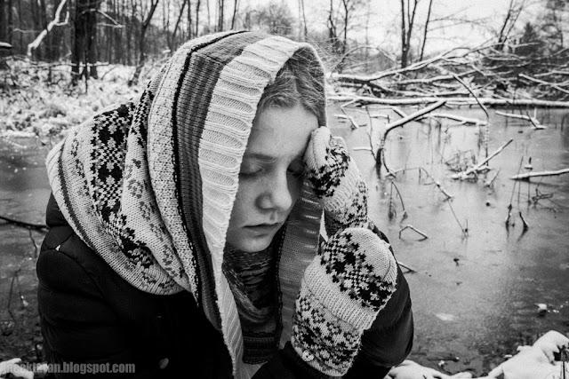Krew, Jacek Taran, portret, fotografia portretowa, zdjecia dzieci, czarno-biala