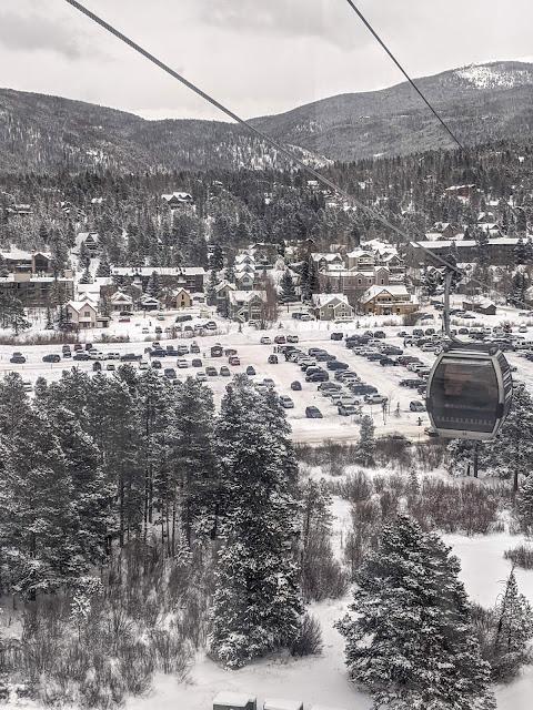 View from the Breckenridge Gondola free ride service
