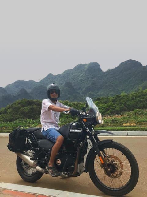 Voyage en moto au Vietnam avec notre nouvelle Royal Enfield Himalayan 411 CC