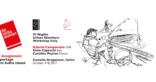 VI workshop di Urban Sketchers a Ischia