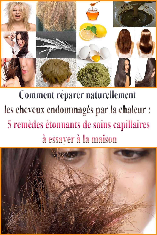 Comment réparer naturellement les cheveux endommagés par la chaleur : 5 remèdes étonnants de soins capillaires à essayer à la maison
