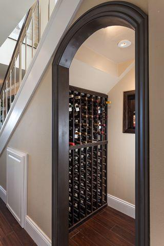 pellmell cr ations am nagement une cave vin sous l. Black Bedroom Furniture Sets. Home Design Ideas
