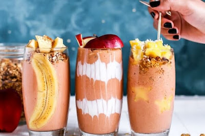 Jus Buah dan Sayur + Bahan Lain