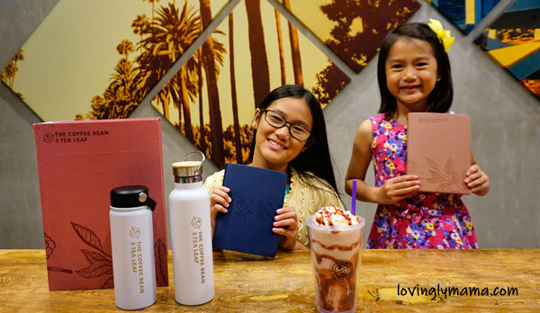 Bacolod City, Ayala Malls Capitol Central, The Coffee Bean and Tea Leaf, CBTL Giving Journals, 2020 journal, CBTL 2020 Journal, The Coffee Bean and Tea Leaf Philippines, Philippines, Real Life Foundation, Victory Christian Fellowship, V-group, educational scholarships, holiday tumblers, CBTL holiday tumblers, coffee-based drink, tea-based drink, barista - Bacolod mommy blogger - CBTL holiday tumblers - kids - daughters