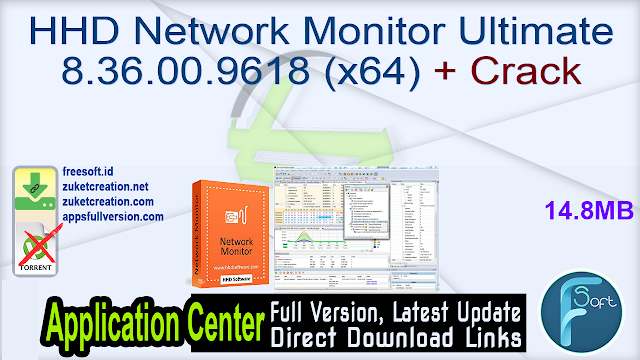 HHD Network Monitor Ultimate 8.36.00.9618 (x64) + Crack