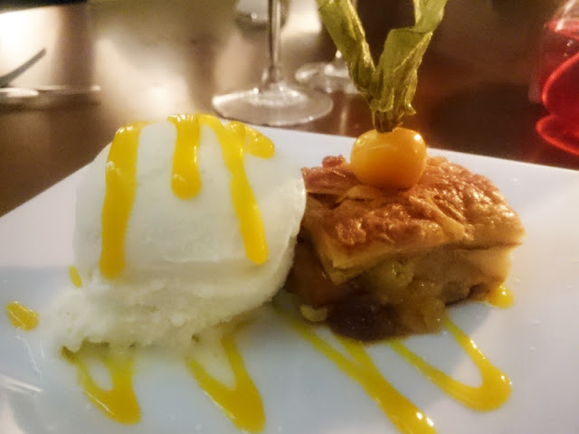 Indian bread and butter pudding - Indian Summer brighton