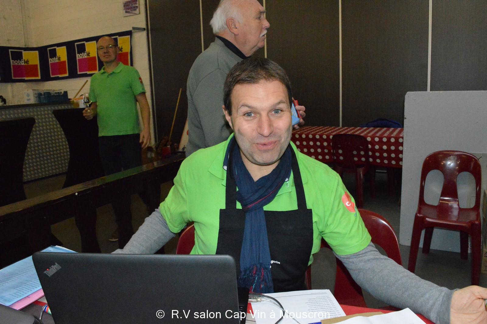 Actualit s mouscron comines mouscron gros succ s pour le salon cap vin qui a pour la - Salon les charmettes mouscron ...