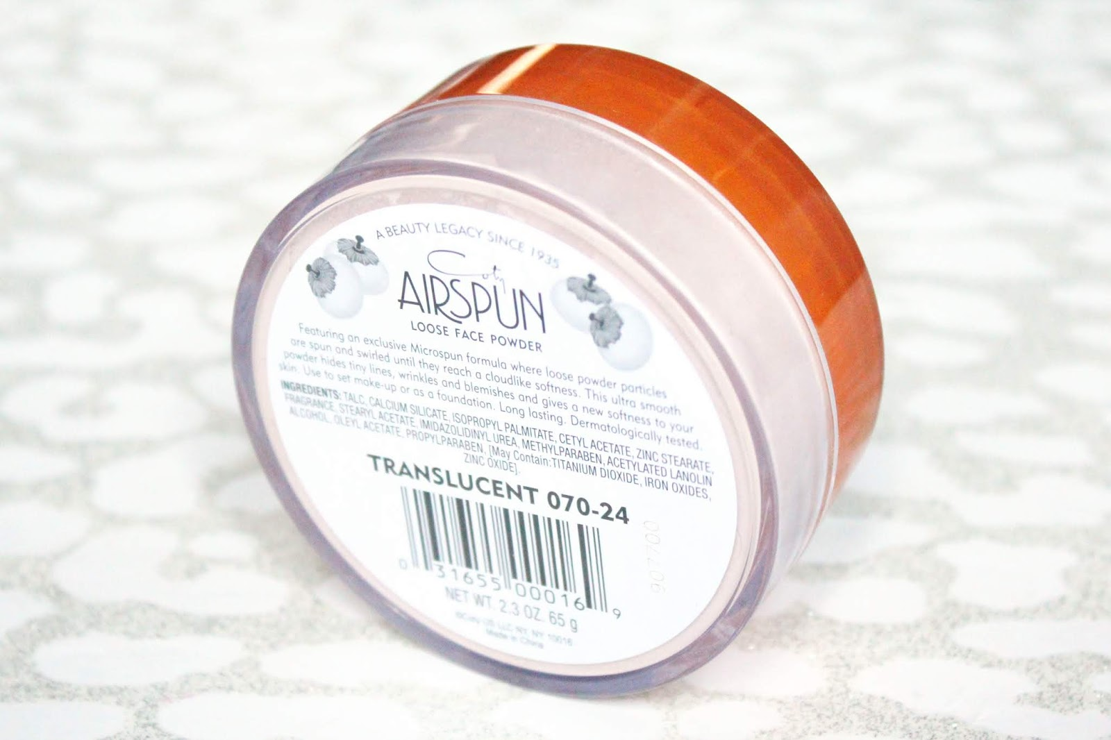 Coty Airspun Loose Translucent Powder Review