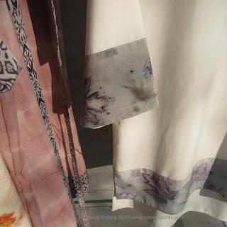 ecoprint ecoprinting tintura naturale abbigliamento sostenibile