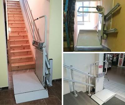 Tania winda dla niepełnosprawnych