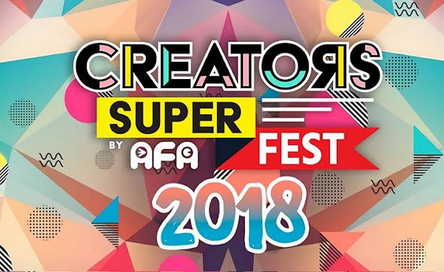 creators super fest, 12&13 May 2018