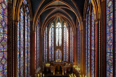 St. Louis IX Built Ste. Chapelle to House the Relics of the Crown of Thorns