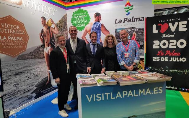 El Isla Bonita Love Festival Palma se promocionó en Fitur Gay LGTB como evento en una isla de 'amor sin etiquetas'