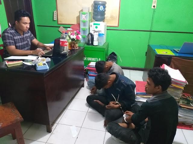 Komplotan Curanmor Asal Riau Ditangkap Sat Reskrim Polres Taput