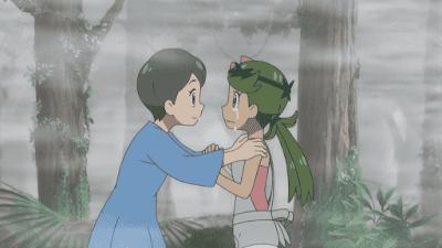 Pokemon Sol y Luna Capitulo 108 Temporada 20 Dentro de la niebla de Tapu Fini