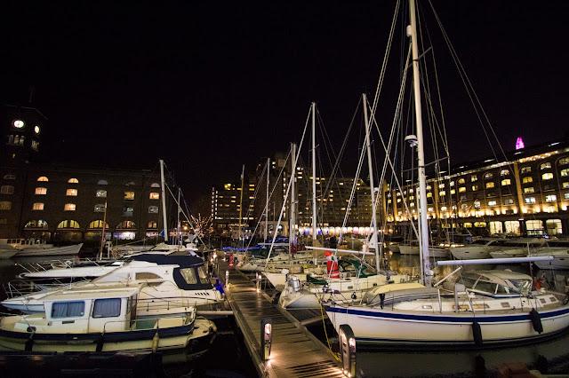 St. Katharine docks-Londra