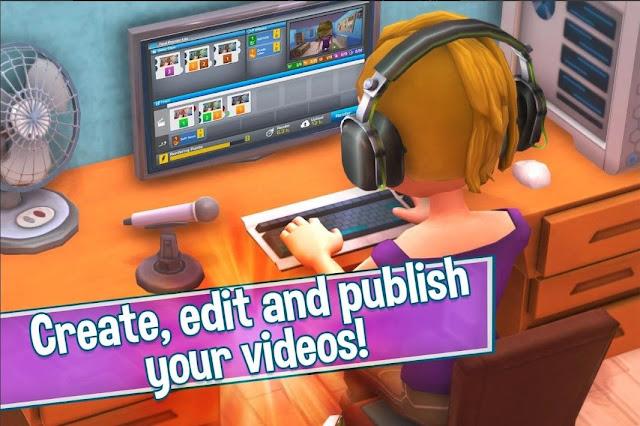 Youtubers Life Gaming Channel MOD APK (MEGA MOD VIP)