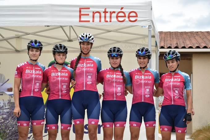 Lauren Dolan en su primera carrera con el Bizkaia - Durango logra su primer Top10