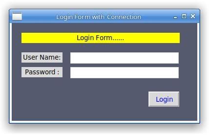 Design Login Form in Python Tkinter