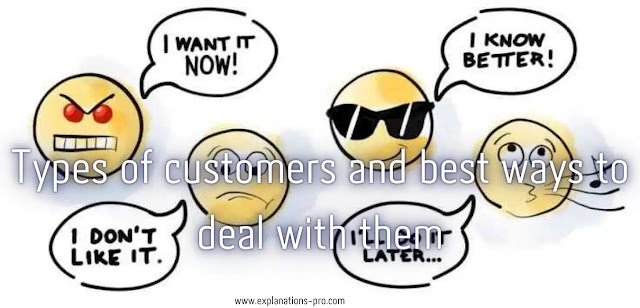 Types of customers