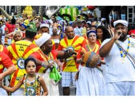 Blocos Afro abrem o Carnaval de BH