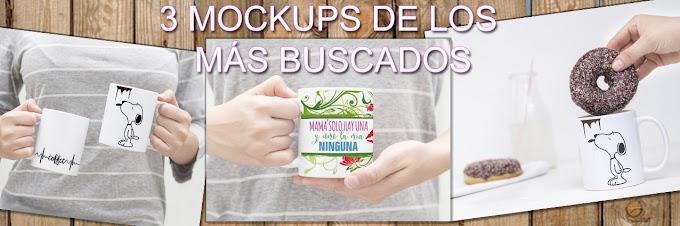"""DESCARGA 3 MOCKUPS DE LA SERIE """"LOS MÁS BUSCADOS"""" PARTE 1..."""