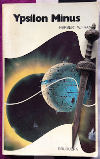 Portada del libro Ypsilon Minus, de Herbert W. Franke