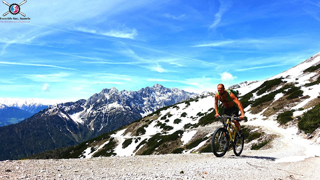 mountainbike tour stanser joch mtb