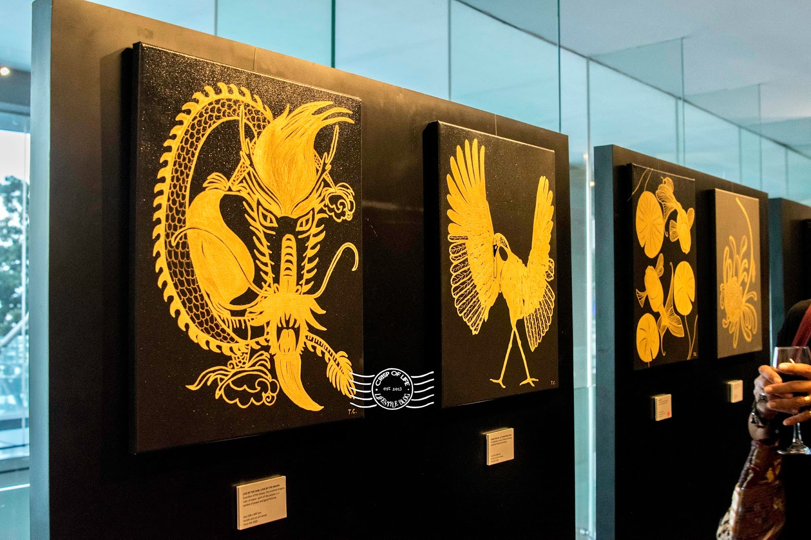 Treasures of a Straits Chinese Art Exhibition Tiffany Choong G hotel Gurney