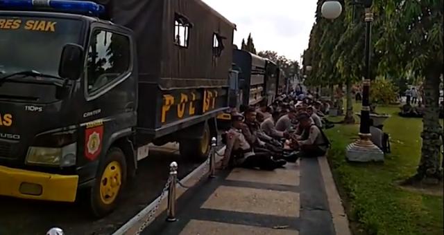Catat! Ini Rute Pengalihan Arus Lalu Lintas Hadapi Demo Akbar SPSI Riau