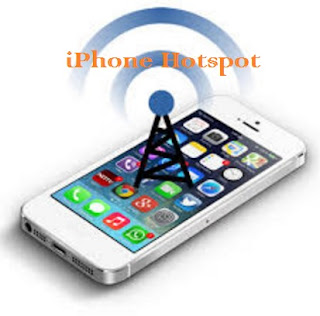 How to create an iPhone hotspot
