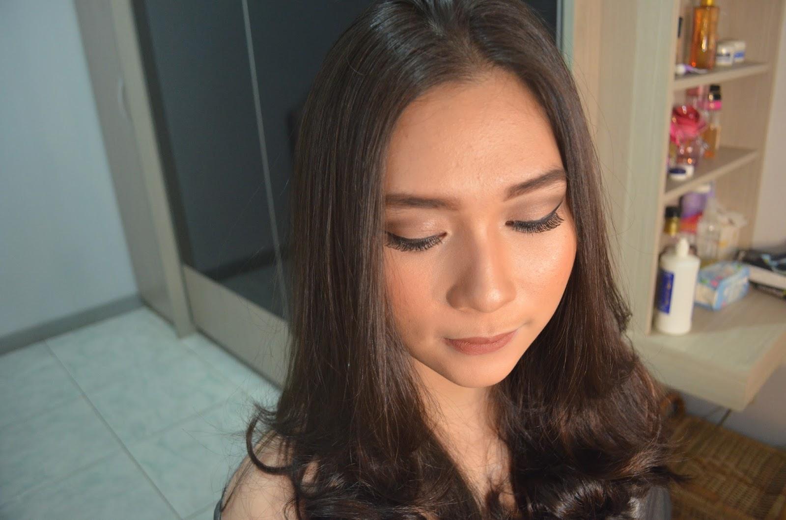 Review Inez Color Contour Plus Correcting Cream Beauty Sassy Vivid Nah Dibawah Ini Adalah Contoh Pemakaian Yang Aku Pakaikan Ke Clientkuu