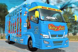 Download Livery Wahyu Abadi Bak Fixed ES Truck Simulator ID