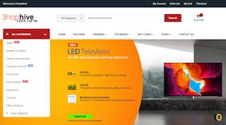 Shophive.com website