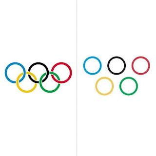 لوجو الالعاب الاولمبية في زمن الكورونا