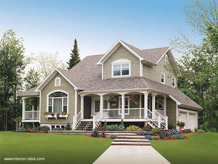 Arquitectura de casas las casas americanas como estilo for American country home designs