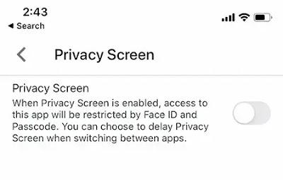 Cara Menambahkan Autentikasi ID Wajah ke Google Drive App di iOS
