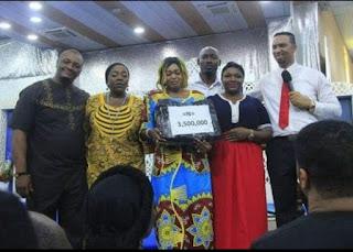 Nigerian Pastor Donates 3.5M to Sick Entertainers