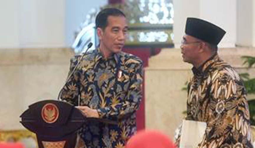 Presiden Jokowi dan Muhadjir Effendy