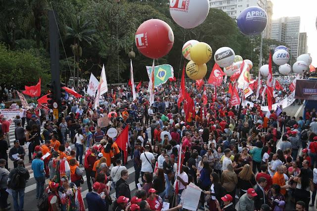 A greve de 28 de Abril de 2017 foi grandiosa em MG e no país todo.