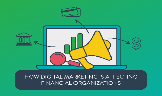 How Digital Marketing Is Affecting Financial Organizations #infographic