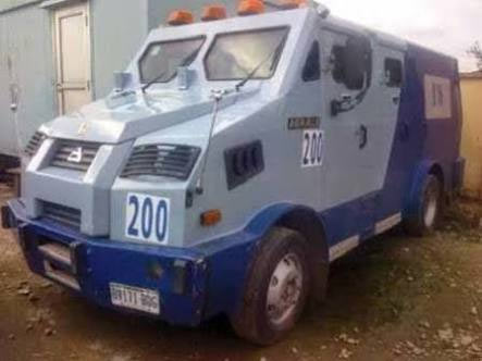 See bullion van used by smugglers to import rice